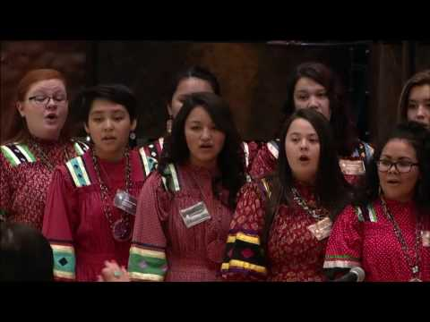 Cherokee Days 2016 - Cherokee National Youth Choir 1