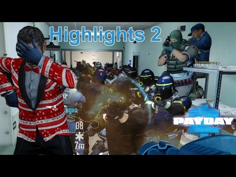 Getting exhausted from laughing at my dying friend, Payday 2 |