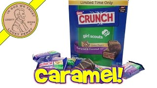 Girl Scouts Caramel & Coconut Crunch Bars, Samoa Or Delights?