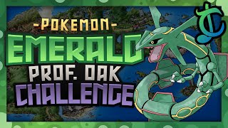 How Easily Can You Complete Professor Oak's Challenge in Pokemon Emerald? - ChaoticMeatball
