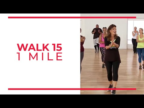 Walk At Home: Walk 15 | 1 Mile Walking Exercise