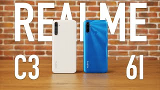 Доступный Android смартфон. Realme 6i и С3