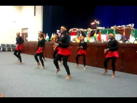 Jewel Court  Kwanzaa Dance - Dec 2011