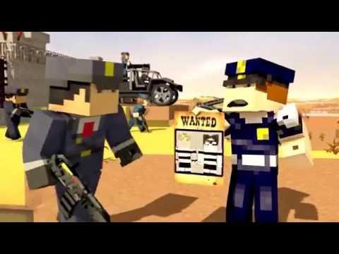 побег из тюрьмы Minecraft Анимация