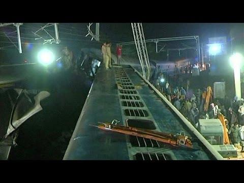 Indien: Mindestens 36 Tote bei Zugentgleisung in Andhra Pradesh