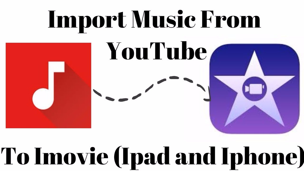 how to download music to imovie from youtube on iphone