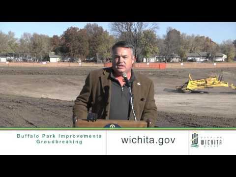 City of Wichita - Buffalo Park Improvements Groundbreaking
