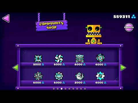 Geometry Dash 2.11 UNLOCK ALL CHESTS + BUYING EVERY ICONS!!!