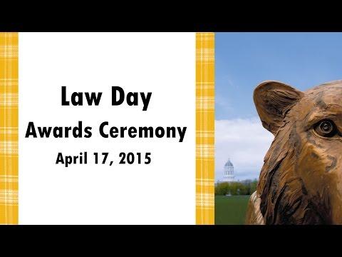 2015 Law Day Awards Ceremony