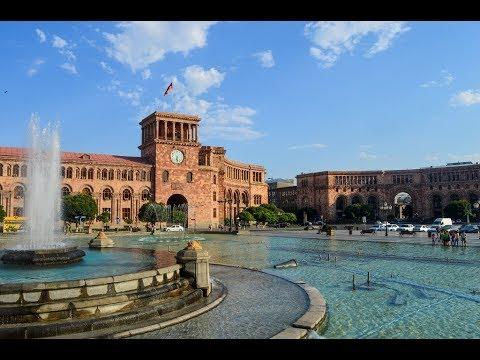 Ереван. Площадь Республики. Большой Каскад. Район Конд.