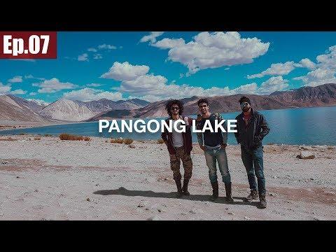 Leh to Pangong Lake | Chang La Pass || Ladakh Trip 2017 ~Ep.07
