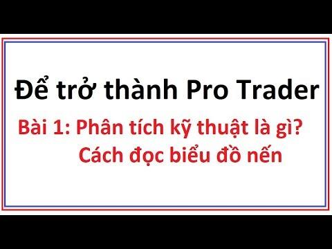 Để trở thành Pro Trader Bài 1: Phân tích kỹ thuật là gì? Biểu đồ nến Nhật là gì Cách đọc biểu đồ nến