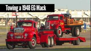 Classic Mack Trucks And Joey Logano'S Original Racecar