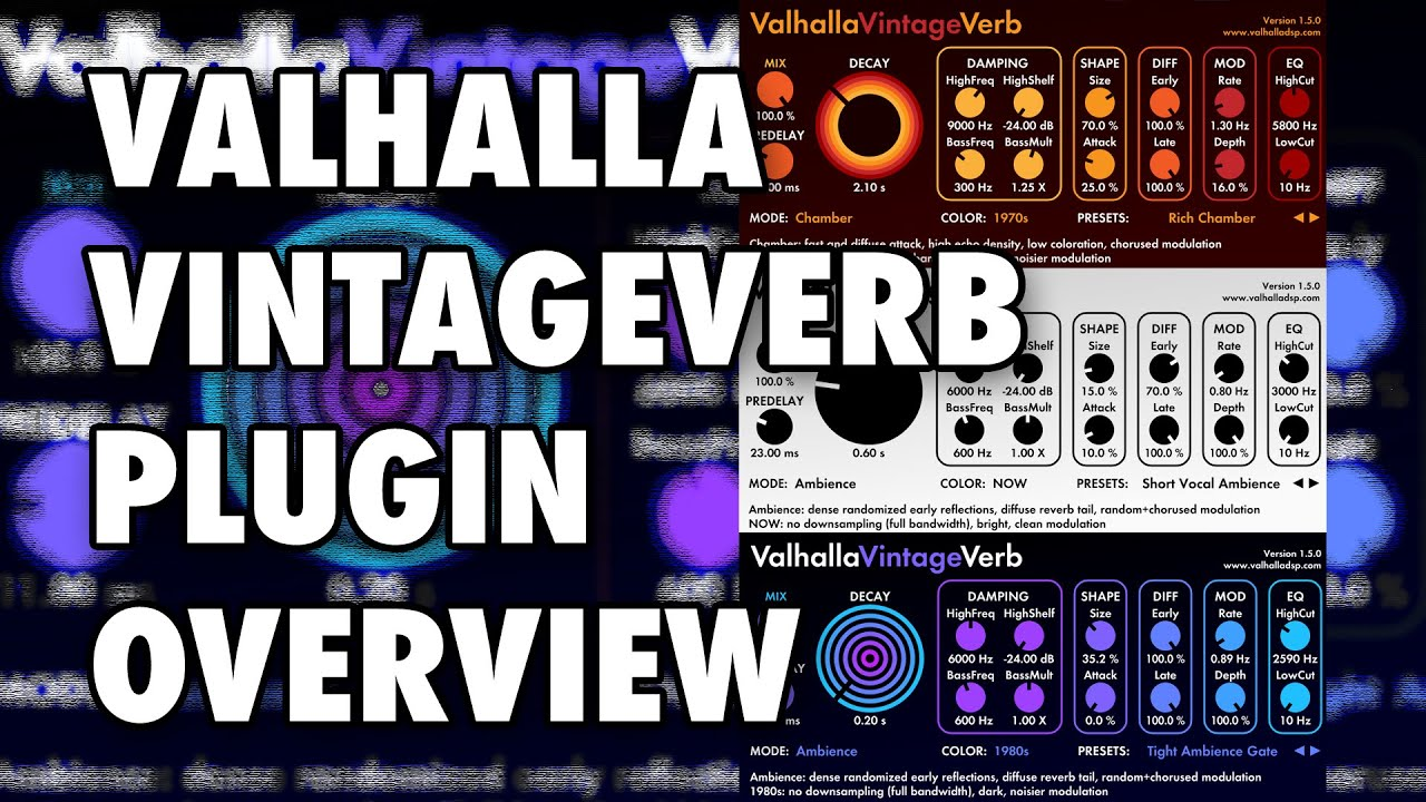 Download: Valhalla VintageVerb v1 7 1 WiN MAC-R2R-HEXWARS | Free