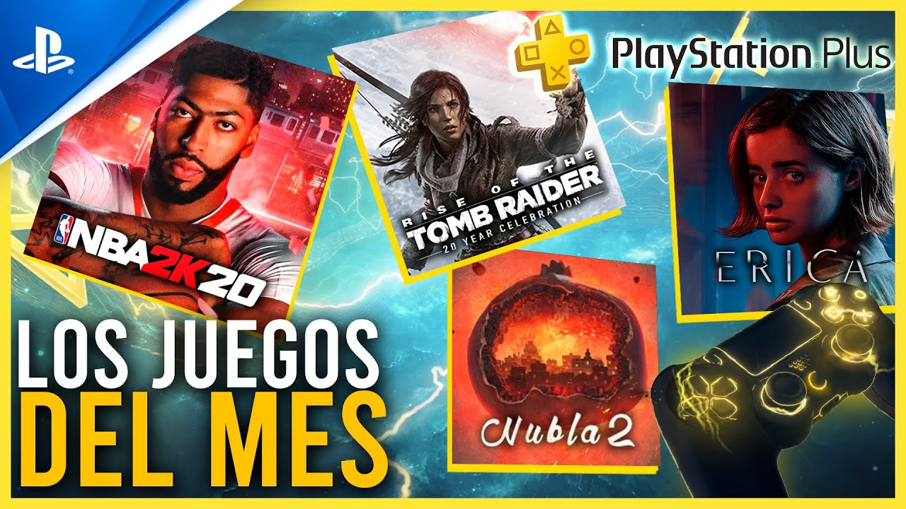 PROBAMOS los JUEGOS del MES de JULIO - NBA 2K20, Rise of the Tomb Raider, ERICA y Nubla 2 | PS4