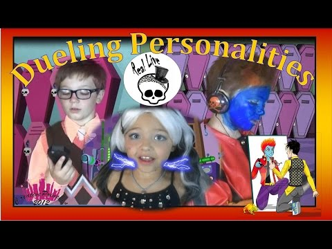 New Real Live Monster High | 'Dueling Personalities' - Creative Princess