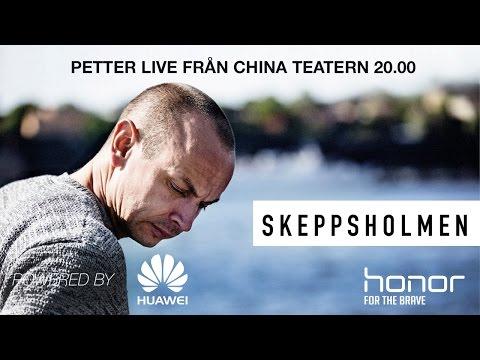 Petter live från ett utsålt China Teatern i Stockholm!