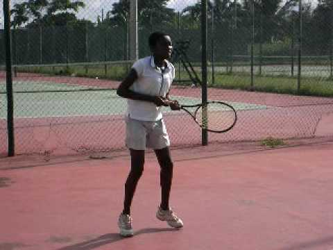 Africa Tennis Aid: The Gals - Emma