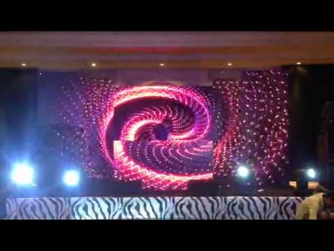 Indoor Led Screens Display P3 9 Wedding Stage Decoration Projects Youtube
