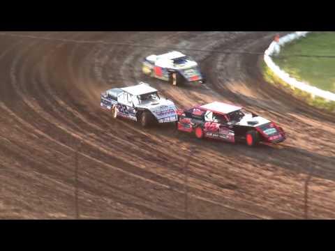 IMCA Sport Mod Heats Farley Speedway 7/14/17