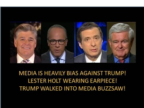 Trump Ran Into A Buzzsaw! Holt Wearing Earpiece! Several Candy Crowley Moments!