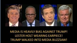 Trump Ran Into A Buzzsaw! Holt Wearing Earpiece! Several Candy Crowley Moments! thumbnail