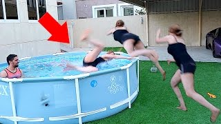 LANA SWIMMING FAIL !!!!