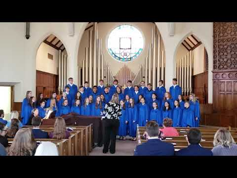 Sing a Mighty Song - Perry Lecompton High School KS Choir