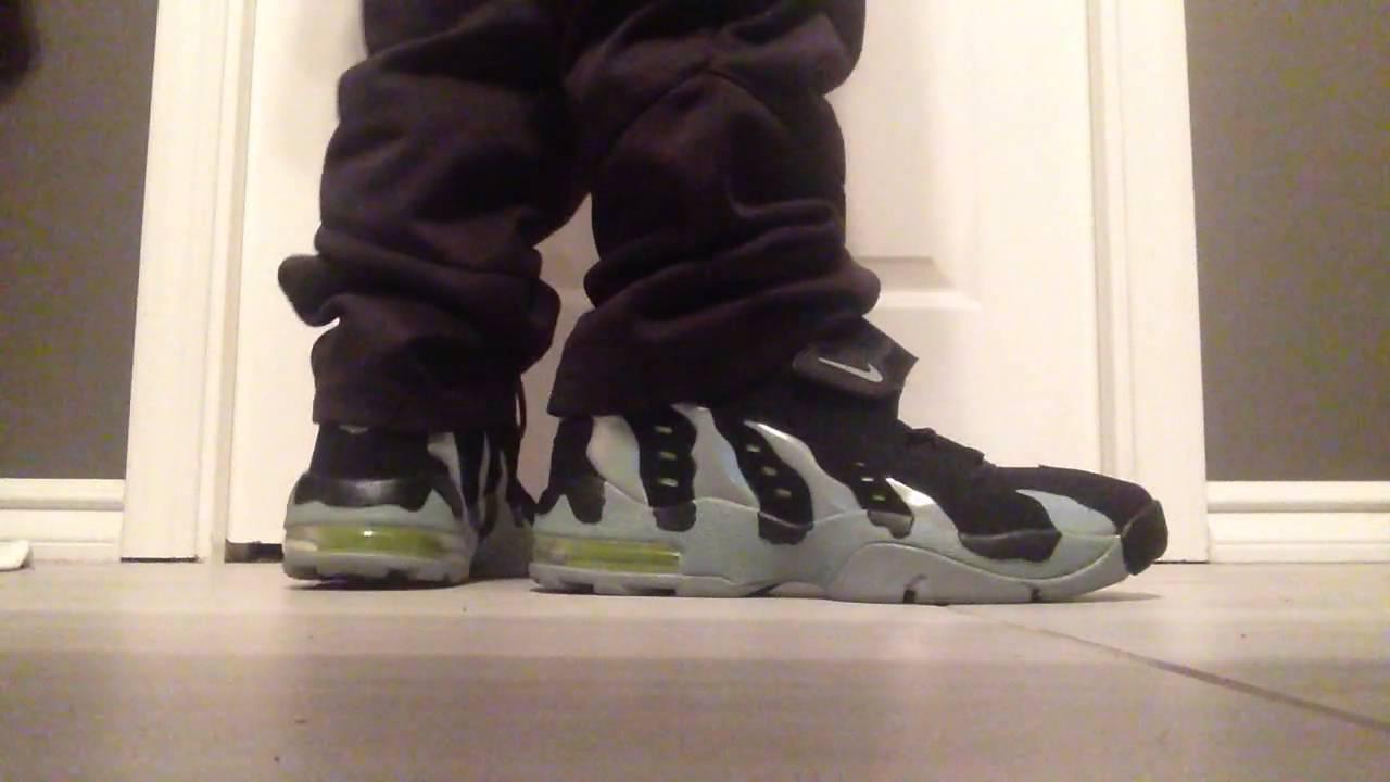 416faf9b52e8 ... Nike Airmax 96 DT BlackVolt on feet - YouTube ...