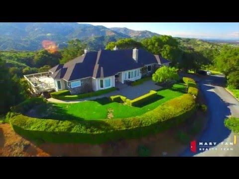 22338 Regnart Road - Cupertino, CA 95014 by Douglas Thron drone real estate videos bay area