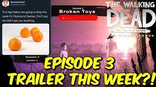 "The Walking Dead:Season 4 Episode 3 ""Broken Toys"" Trailer This WEEK?!  - The Final Season"