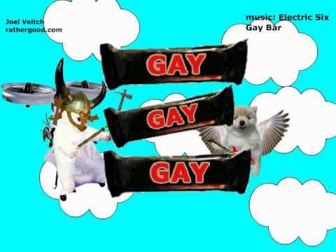 Rather good gay bar