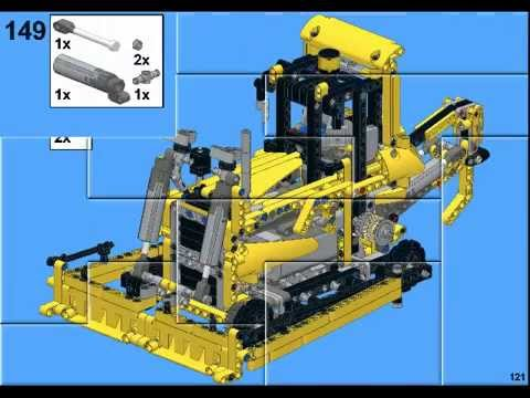 Lego Technic 8043 C Model Moc Building Instructions Youtube
