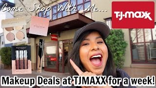 Come Shop With Me for High End Makeup Deals at TJMAXX for a week!