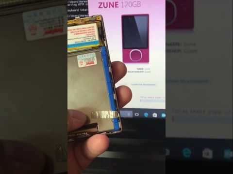 Zune 120 GB HDD to SSD Upgrade