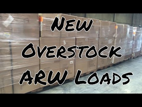ARW Department Store New Overstock Loads