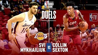 Svi Mykhailiuk and Collin Sexton Duel In The Semifinals | 2018 MGM Resorts Summer League