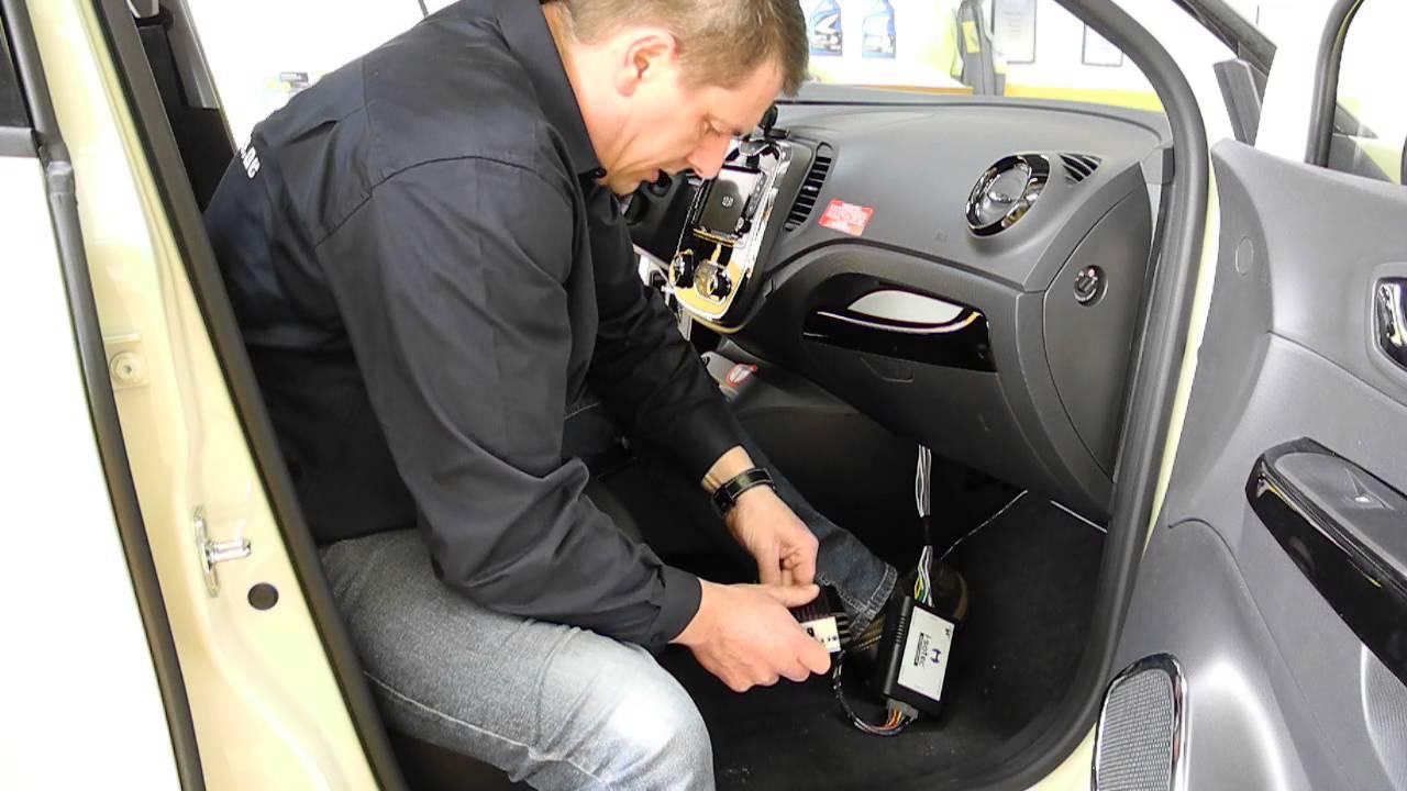 Renault R-Link Sound Upgrade mit i-sotec i-soamp mini