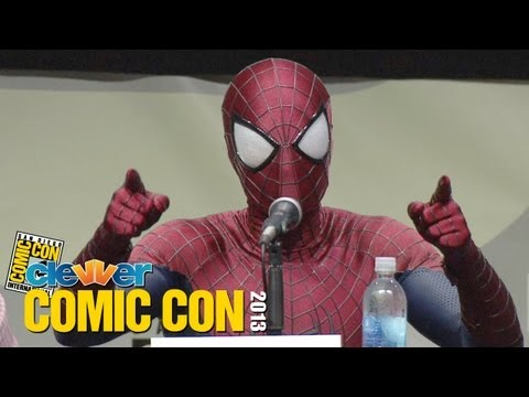 The Amazing Spider-Man 2 Comic Con 2013 Panel - Andrew Garfield, Jamie Foxx