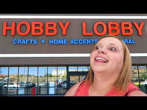 FIRST TIME AT HOBBY LOBBY