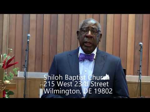 REV. DR. CLIFFORD I. JOHNSON, PASTOR  SHILOH BAPTIST CHURCH