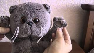видео Мягкая игрушка кот Басик: фото. Можно ли купить мягкую игрушку кот Басик в интернет магазине Алиэкспресс?