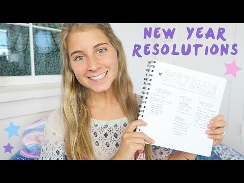 MY NEW YEAR RESOLUTIONS // SETTING GOALS VS. ACHIEVING GOALS 🙌🏼 ⭐️