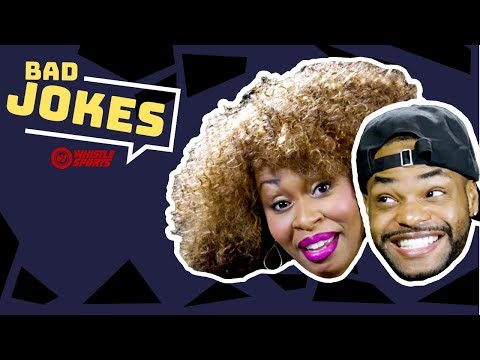 King Bach vs. GloZell | Bad Joke Telling