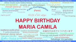 MariaCamila   Languages Idiomas - Happy Birthday