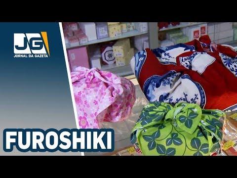 Furoshiki, o pano quadrado que embrulha de tudo