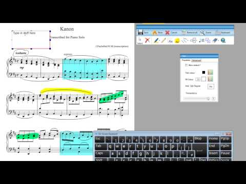 Annotations in Detail in Power Music Professional