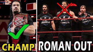 ROMAN REIGNS OUT From THE SHIELD?!   3 Scenarios if Roman would'nt had join The Shield  