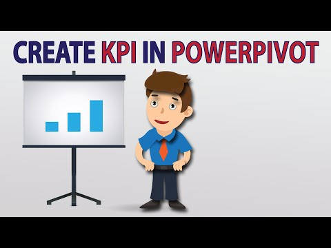 Creating Kpi Dashboard Using Excel Powerpivot