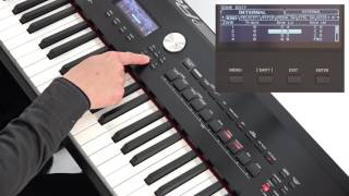 """""""Performing with a Split Keyboard (Split)"""" Roland RD-2000 #05"""